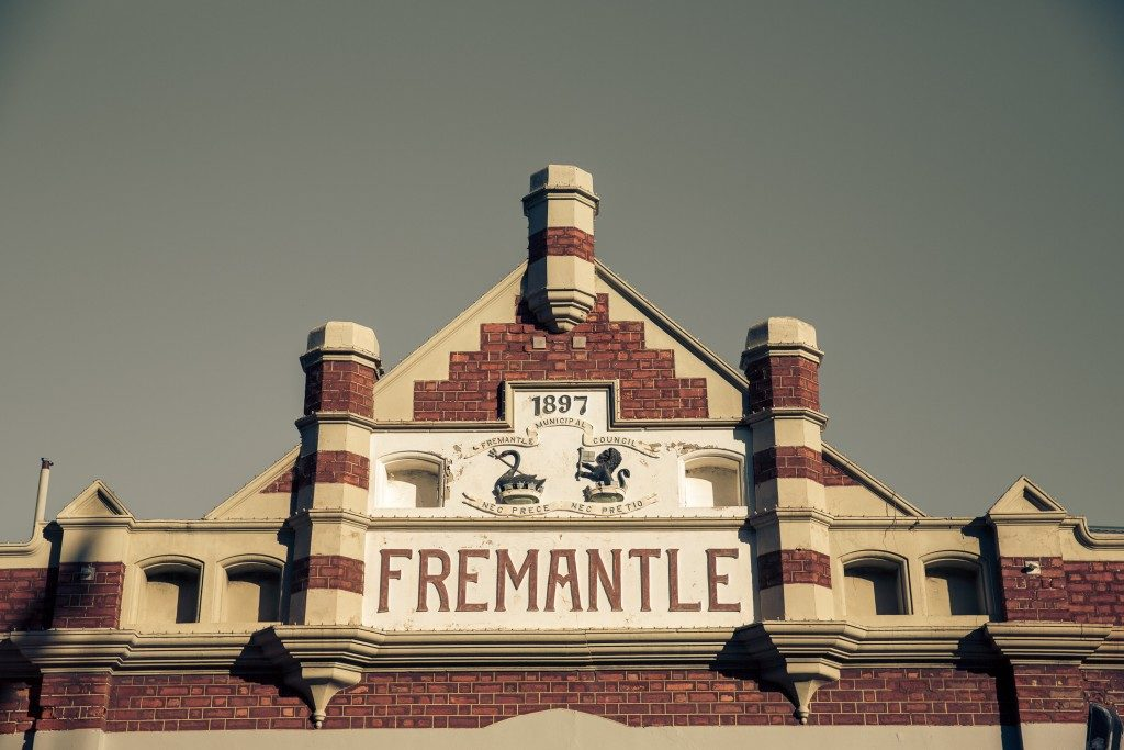 Old building in Fremantle, Australia.